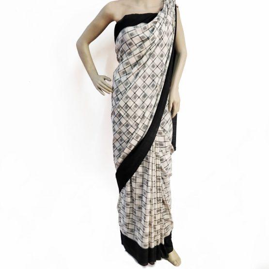 pure cotton ikat sarees