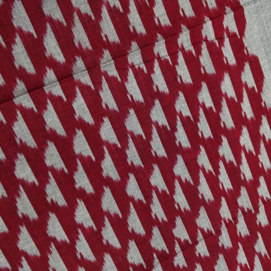 ikat geometric cotton stoles
