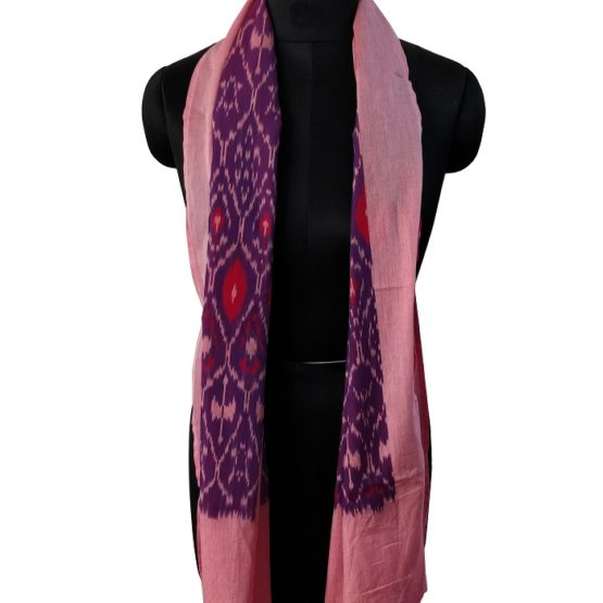 ikat cotton stoles