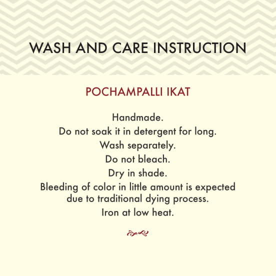 Wash and Care Instructions Card