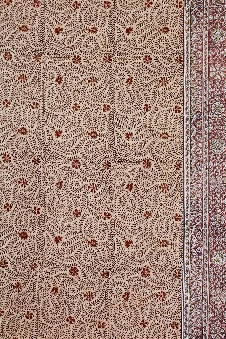 machilipatnam kalamkari cotton sarees 3c