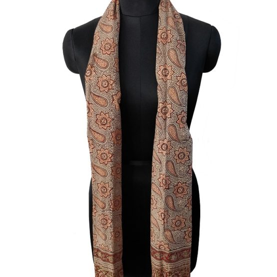 Kalamkari cotton stoles