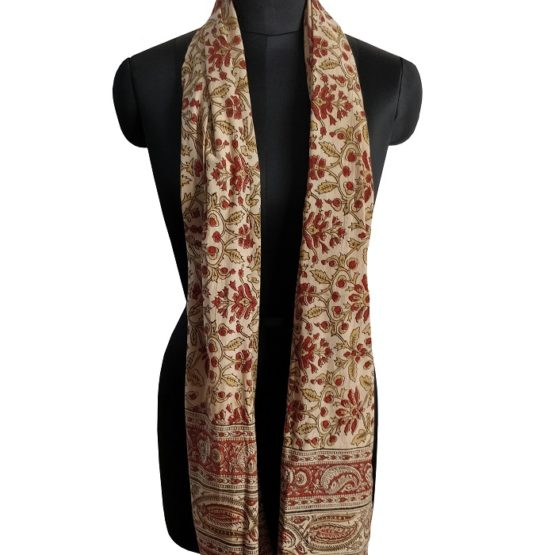 authentic Kalamkari stoles