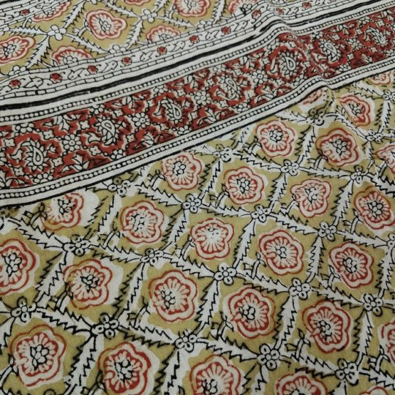 cotton Kalamkari stoles