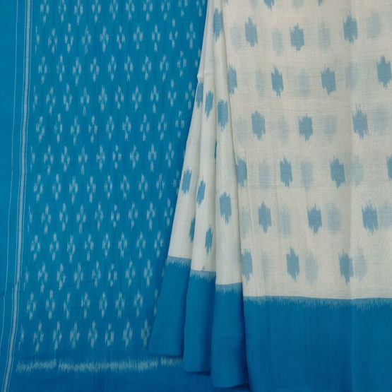 Indian Traditional Saree with Floral Design