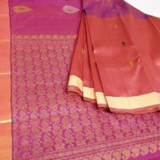 Traditional Pure Silk Saree blouse