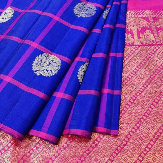 Dharmavaram Peacock Sarees