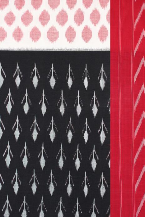 Handwoven Pure Cotton Pochampally Saree (3)