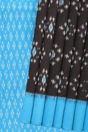 Pochampally Double Ikat Hand Woven Pure Cotton Saree Online (1)