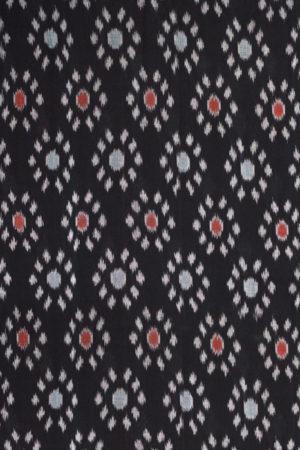 Pochampally Double Ikat Hand Woven Pure Cotton Saree Online (2)