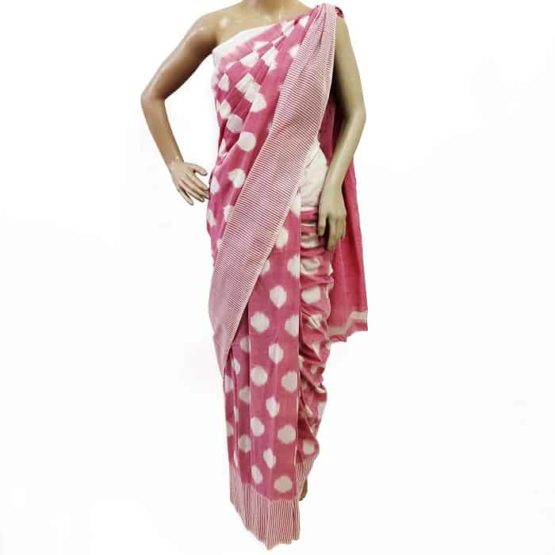 Traditional Cotton Saree - Indian Handloom Clothes