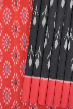 Traditional Pochapally Ikat South Indian Saree (1)