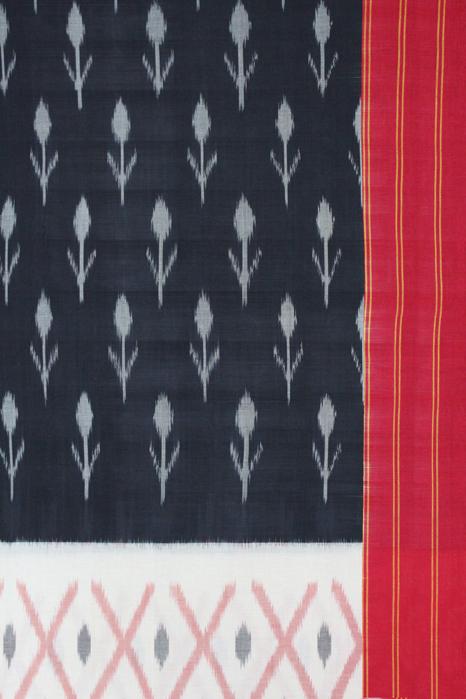 Traditional Pochapally Ikat South Indian Saree (3)