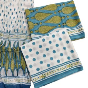 Sanganeri Cotton salwar with dupatta