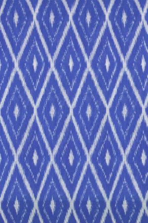 Grey-Blue-Green Coloured Pochampally Ikat Saree (2)