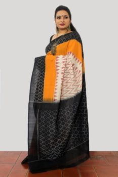 Ikat Cotton Saree B2