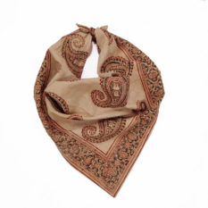Paisley Motif Red Skin Color Bandana Scarf- GI tag products
