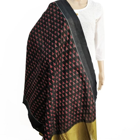 ikat cotton dupattas