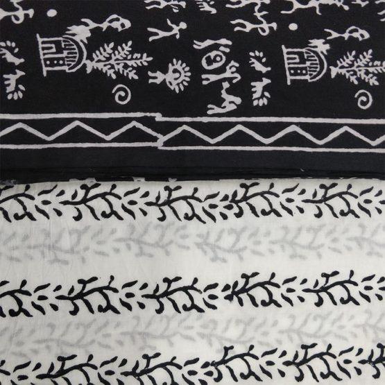 Sanganeri block print salwar suit