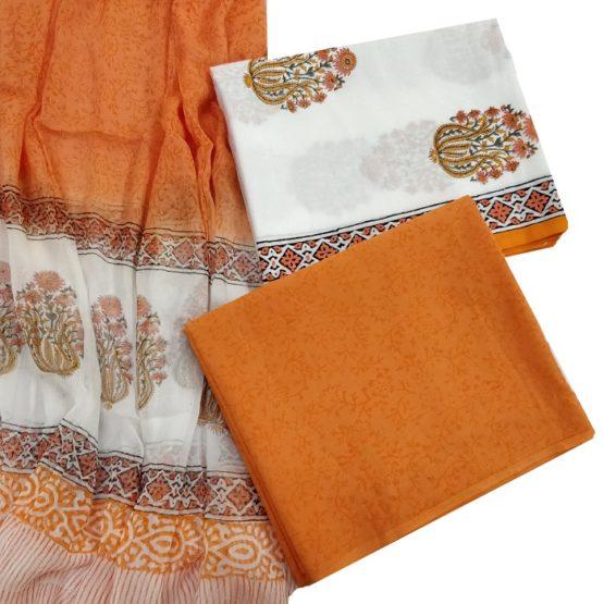 cotton salwar dupatta set