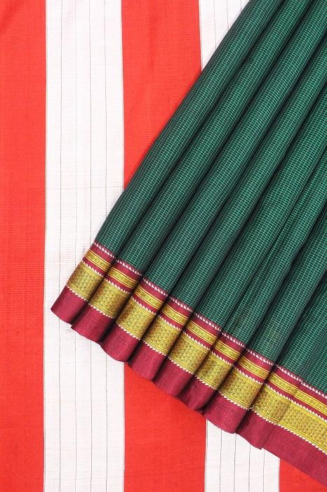 Semi Silk Cotton Sarees 1
