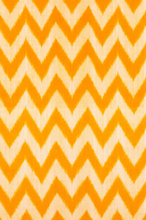 Yellow-White Double Ikat Pure Cotton Saree Online (2)