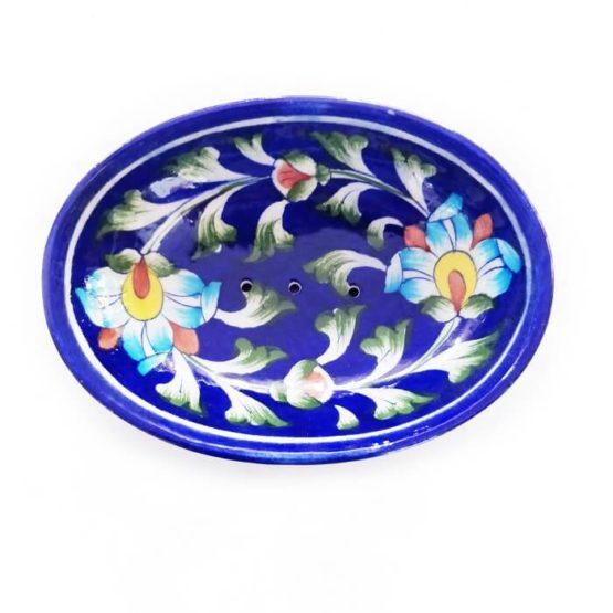 Deep Blue Soap Dish