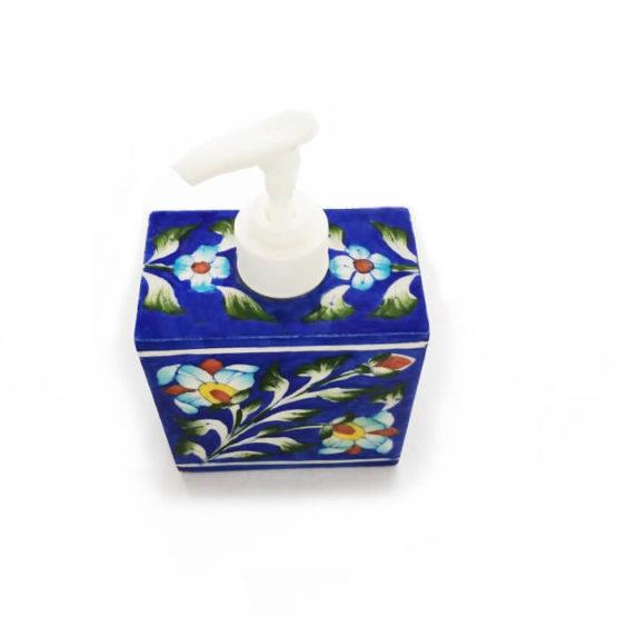 Deep Blue Soap Dispenser