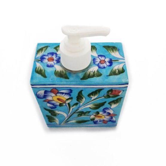 Sky Blue Soap Dispenser