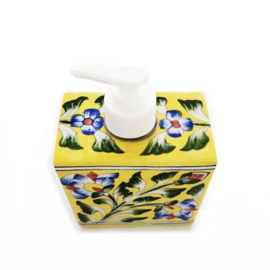 Yellow Soap Dispenser