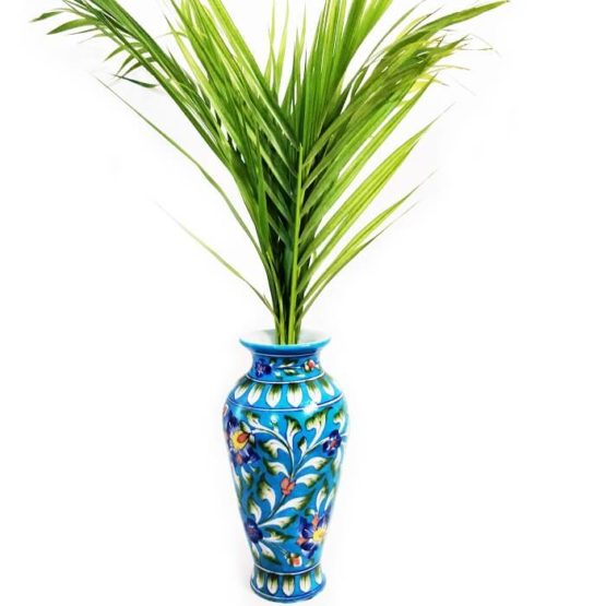 Light Blue Coloured Vase