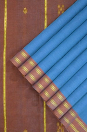 Buy Udupi Saree Blue 1