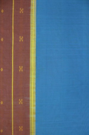 Buy Udupi Saree Blue 2