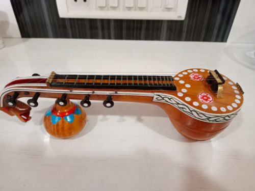 GiTAGGED® Bobbili Veena (Saraswati Veena) photo review