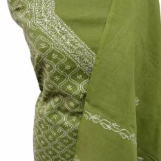 Lucknow Chikankari Hand-Embroidered Salwar Material Online