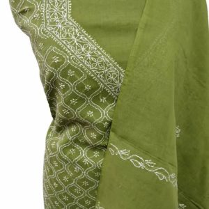 Lucknow Chikankari Hand-Embroidered Salwar Material Online