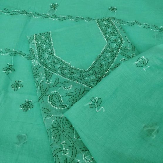 Pure Cotton Salwar Suit Dupatta Material Online