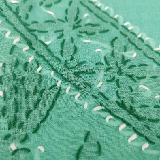 Lucknowi Salwar Suit Dupatta Material Online India