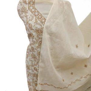 Chikankari Suit of Cotton Fabric