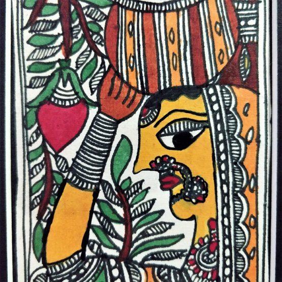 madhubani Indian artwork