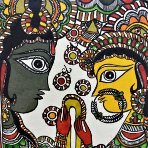 madhubani Indian painting