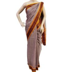 Handwoven cotton sarees