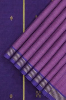Udupi cotton saree Purple 1