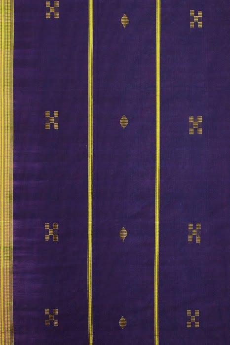 Udupi cotton saree Purple 3