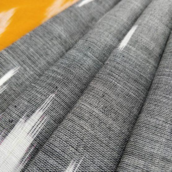 Geometric & Line Pattern on the Cotton Saree