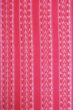 POCHAMPALLY IKAT SAREES - Purple-Red Dot Pattern Pochampally Ikat Saree (2)