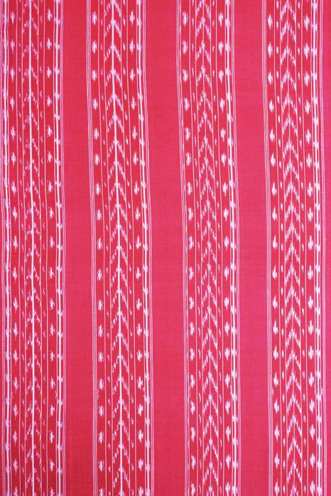 POCHAMPALLY IKAT SAREES - Purple-Red Dot Pattern Pochampally Ikat Saree (2)