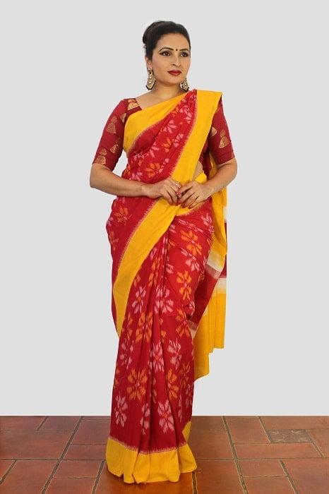 Pochampally Cotton Sarees A3