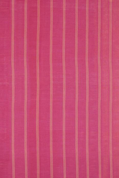 Yellow-Pink Double Ikat Cotton Saree Online
