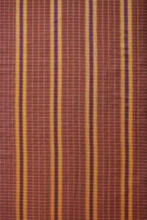 Brown Narayanpet Cotton Saree (2)